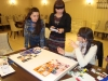 Vasconi designers making Moodboards (collection making training Jose Koopman 4-2012 Moldova ©)